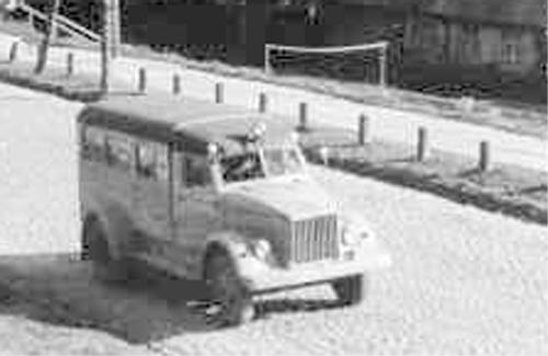 Санитарный автомобиль ПАЗ-653 - Ambulance PAZ-653